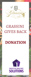 Grassini Gives Back Donation